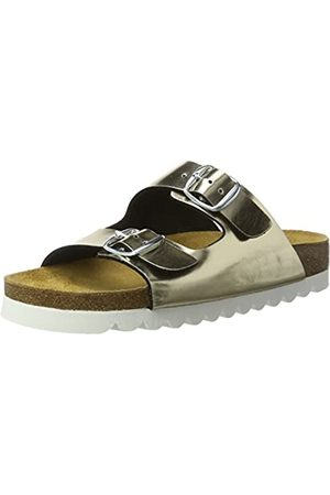 LICO Bioline Chic, Mules para Mujer, Gold