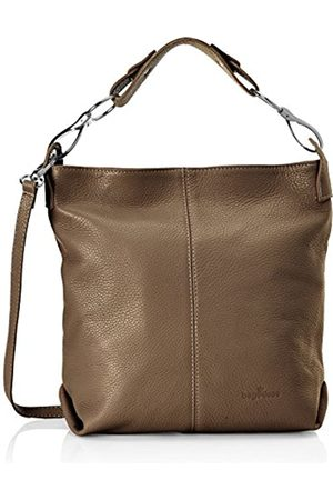 Bags4Less Yenna, Shoppers y bolsos de hombro Mujer, Braun (Taupe)