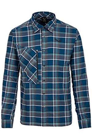 Salewa Fanes Flannel 4 PL M L/S SRT, Camisa de Manga Larga para Hombre, Hombre, 00-0000027439