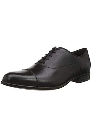 Geox U Iacopo B, Zapatos de Cordones Oxford para Hombre, (Black C9999)