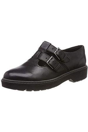 Clarks Alexa Agnes, Mocasines para Mujer, (Black Leather-)