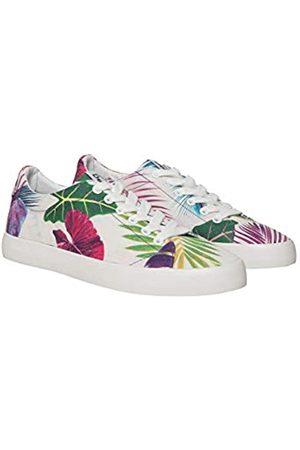 Desigual Shoes (Canvas), Zapatillas para Mujer, (Coral 7058)
