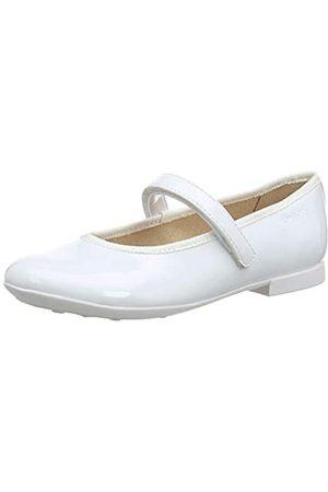 Geox Jr Plie' A, Bailarinas para Niñas, (White C1000)
