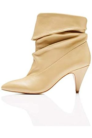 FIND Slouch Botines Mujer, (Caramel Caramel)