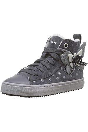 Geox J Kalispera Girl A, Zapatillas Altas para Niñas, (Dk Grey C9002)