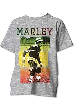 Desconocido Camiseta de Manga Corta con Texto de Bob Marley para Hombre de Unknown L
