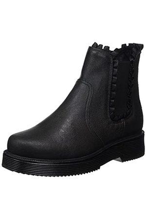 Bullboxer 958505E6L, Zapatos de Cordones Oxford para Mujer, (Black BLKM)