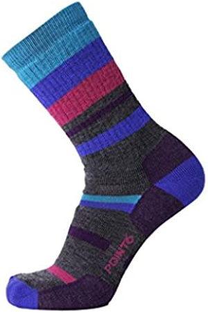 Desconocido Calcetines de Senderismo para Hombre, diseño de Rayas Mixtas, Hombre, Calcetines, POIN-112567215L