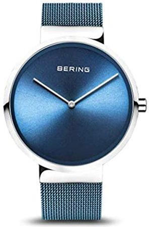 Bering Reloj Analógico para Unisex Adultos de Cuarzo con Correa en Acero Inoxidable 14539-308