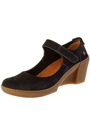 Art Rotterdam, Zapatos de tacón con Punta Cerrada para Mujer, (Black Black)