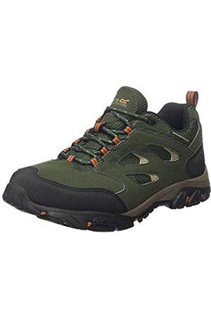 Regatta Holcombe Iep Low Rise Hiking Boot, Zapatillas de Senderismo para Hombre, (Bay Leaf/Burnt Umbre R56)