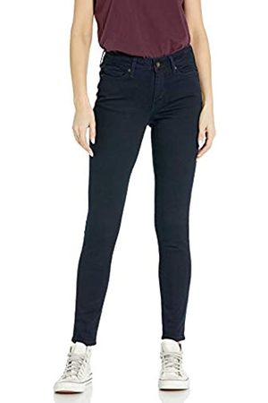 Goodthreads Mid-Rise Skinny Jeans, Indigo Blue Overdyed