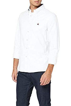 Brooks Brothers Ni Oxford with Fun Logo Milano Camisa Casual