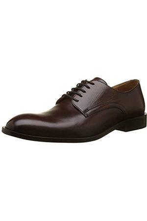 Geox U Saymore C, Zapatos de Cordones Derby para Hombre, (Ebony)