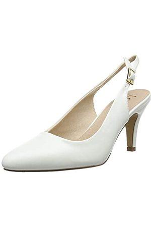 Lotus Lizzie, Zapatos con Tira de Tobillo para Mujer, (White WW)