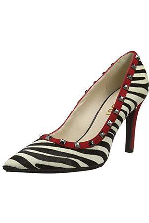 Lodi RELEAINOTP, Zapatos de tacón con Punta Cerrada para Mujer, (Cebra Cebra )