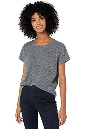 Goodthreads Washed Jersey Cotton Pocket Crewneck T-Shirt Fashion-t-Shirts, Charcoal Space Dye Heather