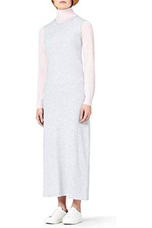 MERAKI Vestido Maxi Slim Fit de Algodón Mujer