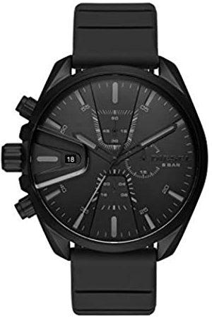 Diesel Hombre Relojes - Reloj para de Cuarzo con Correa en Silicona DZ4507