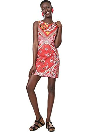 Desigual Dress Sleeveless Lisa Woman Red Vestido