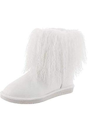 Bearpaw Boo, Botas Slouch para Mujer, (White 010)