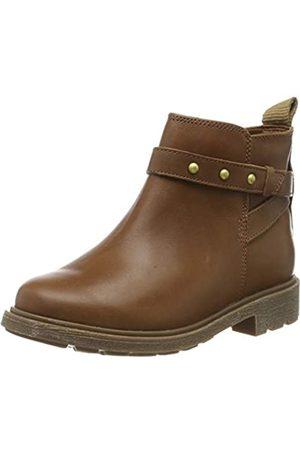 Clarks Astrol Soar K, Botines para Niñas, (Tan Leather Tan Leather)