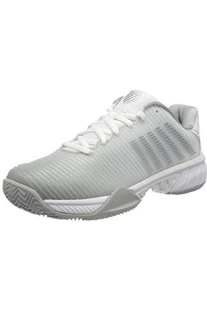 K-Swiss Hypercourt Express 2 HB, Zapatillas de Tenis para Mujer, (White/Highrise/Silver 150)
