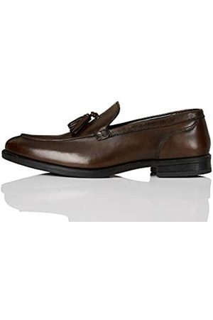 FIND Marca Amazon - Abe_HS01 Mocasines, (Chocolate Brown Chocolate Brown)