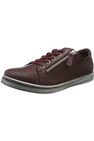 Andrea Conti 0348732, Zapatillas para Mujer, (Burgund 582)