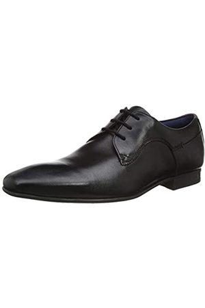 Ted Baker Trifp, Zapatos de Cordones Derby para Hombre, (Black Black)