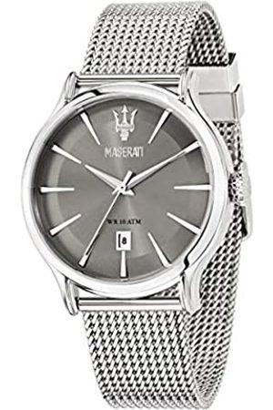 Maserati Reloj para Hombre, Colección Epoca, Movimiento de Cuarzo, Solo Tiempo con Fecha