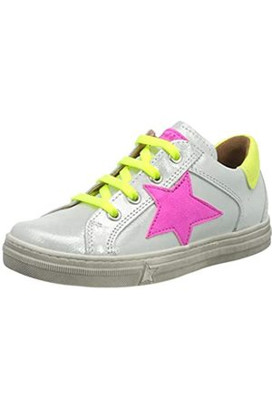 Froddo G3130142 Girls Shoe, Zapatillas para Niñas, (White+ IB2)