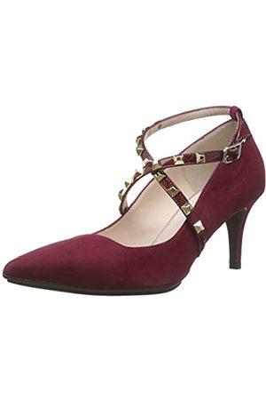 Lodi Eldora-GO, Zapatos con Tira de Tobillo para Mujer, (Ante Bordo Ante Bordo)