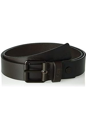 Calvin Klein J 3.5cm Adj Leather Belt Cinturón