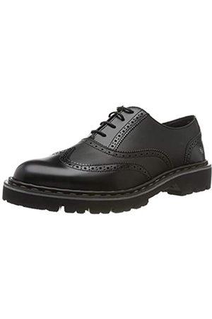 Art Cambridge, Zapatos de Cordones Oxford para Mujer, (Black/Black Black/Black)