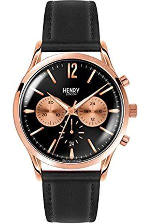 Henry Reloj Analógico para Unisex de Cuarzo con Correa en Cuero 5018479078180