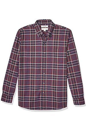 Goodthreads Standard-fit Long-Sleeve Plaid Oxford Shirt Camisa abotonada