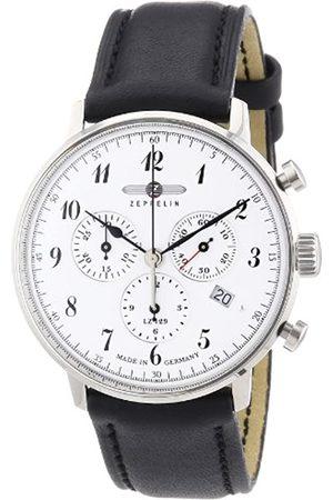 Zeppelin 70861 - Reloj analógico de Cuarzo para Hombre con Correa de Piel