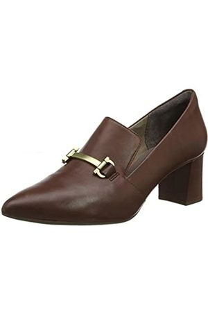 Rockport Total Motion Salima bit Loafer, Zapatos de tacón con Punta Cerrada para Mujer, (Cappuccino 001)