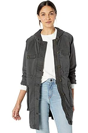 Goodthreads Hooded Utility Jacket outerwear-jackets, Oscuro