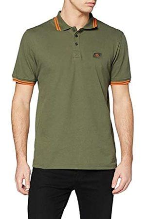 Alpha Industries Twn STRP Camisa de Polo Rayas Gemelas