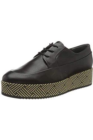 Högl MODY, Zapatos de Cordones Oxford para Mujer, (Schwarz 0100)
