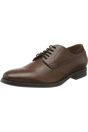 Geox U Rezzonico C, Zapatos de Cordones Derby para Hombre, (Cognac C6001)