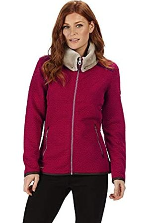 Regatta Talya Full-Zip Luxury Fur Collar Leatherette Trim Quilted Fleece Forro Polar, Mujer