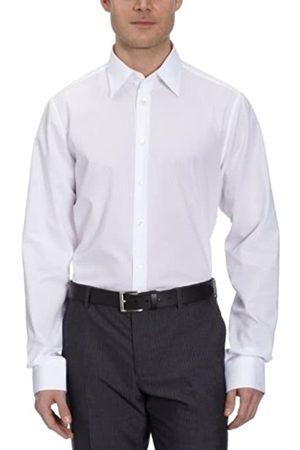 Seidensticker Schwarze Rose - Camisa Slim fit de Manga Larga para Hombre