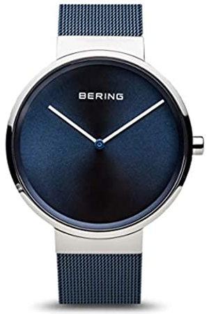 Bering Relojes - Reloj Analógico Classic Collection para Unisex de Cuarzo con Correa en Acero Inoxidable y Cristal de Zafiro 14539-307