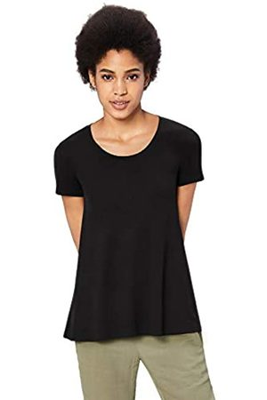 Daily Ritual Marca Amazon - - Camiseta de manga corta holgada con cuello redondo para mujer