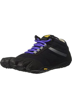 Vibram Trek Ascent Insulated, Zapatillas de Deporte Exterior para Mujer, (Black/Purple)