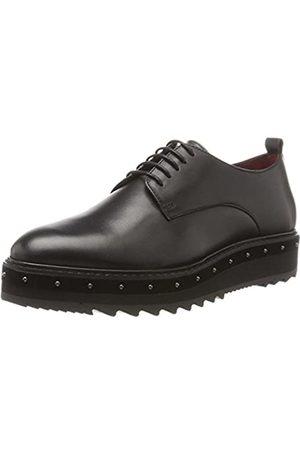 liebeskind LH174500 Calf, Zapatos de Cordones Oxford para Mujer, (Oil Black 9895)