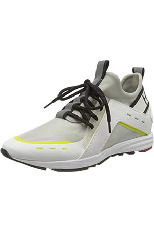 HUGO BOSS Hybrid_Runn_mxrf 10224049 01, Zapatillas para Mujer, (White 100)